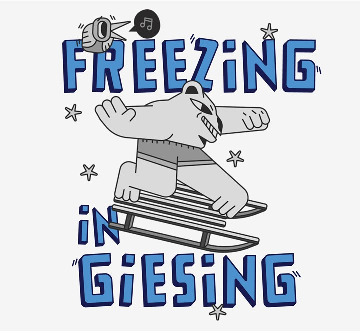Freezing in Giesing - save your local Underground.